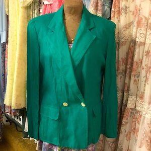Vintage Christian Dior , 1980's rayon jacket